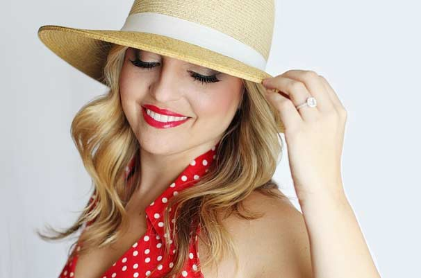 Rote Lippen – ein Must Have zum Retro Look
